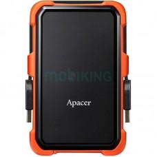 """Внешний жесткий диск 1TB Apacer AC630 Black/Orange (AP1TBAC630T-1/1TB/2.5""""/USB 3.1)"""
