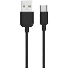 USB Cable Usams U-Turn Series Type-C (TCXD2501) Black 0.25m