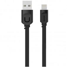 USB Cable Usams US-SJ007 U-Trans Series iPhone 8 Black 0.25m