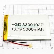 Polymer battery 100*110*3 (5000mAh)