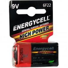 Батарейка 6LR61 GP Energycell 9v (1604GLF-S1) (Солевая) (Крона) (техника)