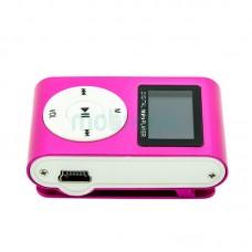 MP3 player SLIM pink + LCD + HF