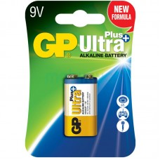 Батарейка 6LR61 GP Ultra Plus 9v (1604AUP-U1) (Крона) (техника)