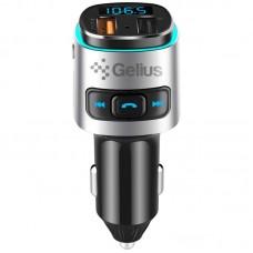 FM Modulator Gelius Pro RGB-QC GP-FMT040 Black/Silver