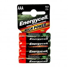 Батарейка AAA (LR-3) Energycell (R03 C4) (Солевая) (4шт на блистере)