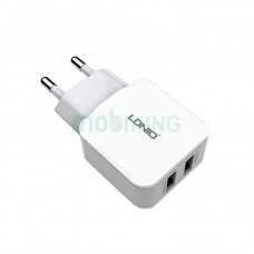 СЗУ 2USB LDNIO (2.4A) White (DL-A2202)