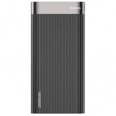 Дополнительная батарея Baseus Parallel QC3.0 + Type-C PD (20000mAh) Black (PPALL-APX01)