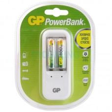 Зарядное устройство GP ReCyko Plus PB 410 GSE-2GBEA1 (2шт AAA LR3/AA LR6)