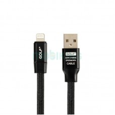 USB Cable Golf Momory iPhone 6 Black (GC-56i)