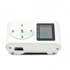 MP3 player SLIM silver + LCD + HF