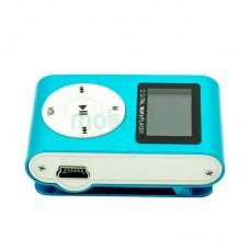 MP3 player SLIM blue + LCD + HF