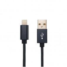 USB Cable Gelius Metallic Edition iPhone 5 Black