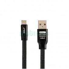 USB Cable Golf Momory Type-C Black (GC-56t)