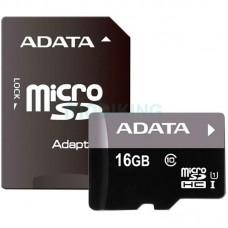 Карта памяти microSDHC 16Gb Adata Premier (80Mb/s) (UHS-1)