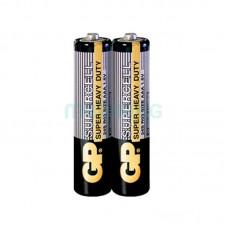 Батарейка AAA (LR-3) GP Supercell (24S-S2) (Солевя) (2шт техника)