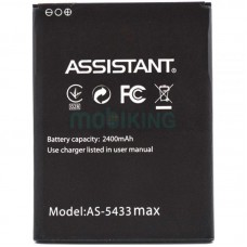 АКБ Original Quality Assistant AS-5433 Max (70%-100%)