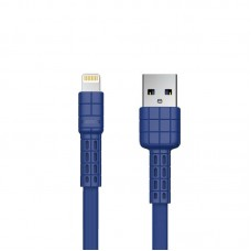 USB Cable Remax (OR) Armor Series RC-116i iPhone 7 Blue 1m