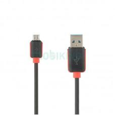 USB Cable Economic Promo MicroUSB Black