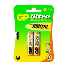 Батарейка AA (LR-6) GP Ultra (15AU-S2) (2шт техника)