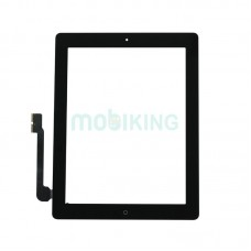 Touchscreen + Len iPad 3/4 New Black with button Home