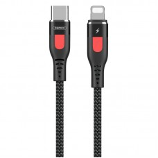 Cable Remax (OR) Super PD Fast Charging RC-151cl Type-C -> Lightning Black 1m