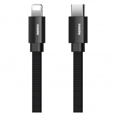 Cable Remax (OR) Kerolla RC-094c Type-C -> iPhone X Black 1m