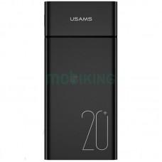 Дополнительная батарея Usams PB14 (20000mAh) Black (US-CD75)