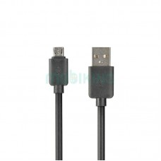USB Cable Optima Light Speed MicroUSB Black