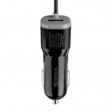 АЗУ Gelius Ultra Edition USB + MicroUSB 2.1A Black 1.2m