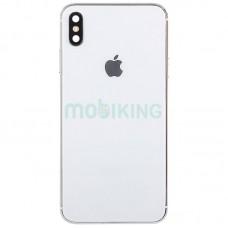 Задняя крышка + стекло камеры iPhone XS White HC