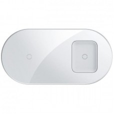 Беспроводное ЗУ Baseus Simple 2in1 (WXJK-02) White (Phone + Pods)