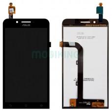 """LCD ASUS Zenfone Go + touch Black Original (5""""-ZC500TG)"""