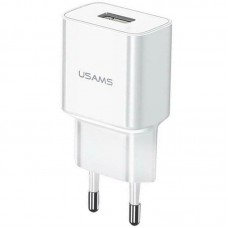 СЗУ 1USB Usams T18 (2.1A) White (US-CC075)