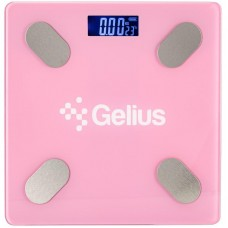 Gelius Floor Scales Zero Fat GP-BS001 Pink (Bluetooth) (Весы)