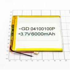 Polymer battery 100*100*4 (6000mAh)