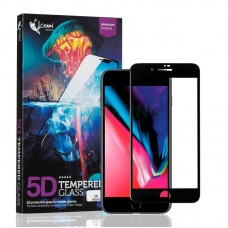 Защитное стекло Krazi 5D for iPhone 7/8 Black