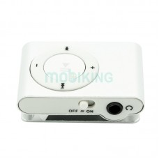 MP3 player SLIM silver + HF