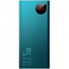 Дополнительная батарея Baseus Adaman Metal Digital Display (20000mAh) Green (PPIMDA-A06)