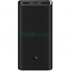Xiaomi Power Bank 3 Pro (PLM07ZM) (2USB+Type-C) 20000mAh Black