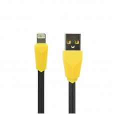 USB Cable Remax (OR) Aliens RC-30i iPhone 5/6 Black/Yellow 1m (5-067)