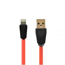 USB Cable Remax (OR) Aliens RC-30i iPhone 5/6 Red/Black 1m (5-067)
