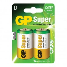 Батарейка LR-20 (D) GP Super (13A-U2) (2шт на блистере)
