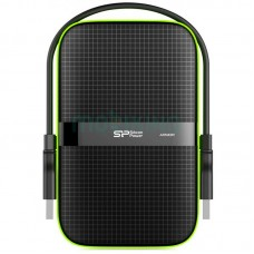 """Внешний жесткий диск 1TB Silicon Power Armor A60 Black (SP010TBPHDA60S3K/1TB/2.5""""/USB 3.0)"""