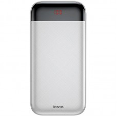 Дополнительная батарея Baseus Mini Cu Digital LCD (20000mAh) White (PPALL-CKU02)