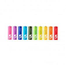 Xiaomi (OR) Alkaline Battery ZI5 Rainbow LR06 (AA) (10шт)