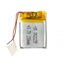 Polymer battery 20*25*4 (250mAh)